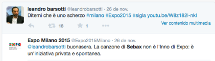 Twitter Expo Milano